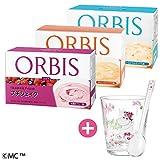 オルビス(ORBIS) 食欲の秋応援!ダイエットシェイク3週間セットC(4種のベリー味・オレンジシトラス味・トロピカルミックス味、各味100g×7食分) ムーミンタンブラー&スプーン付き 80001