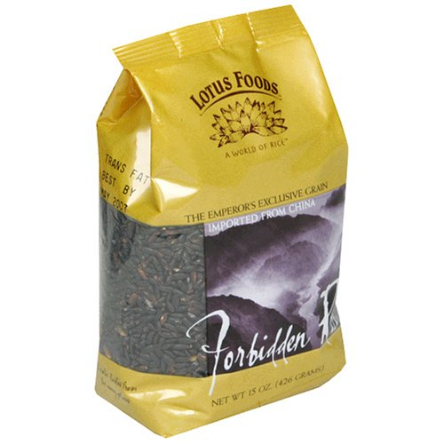 Lotus Foods Forbidden Rice, 15-Ounce Bags (Pack of 12)