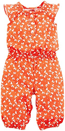 Carter's Baby Girls' Romper (Baby) - Orange