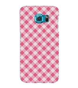 Pink Color Pattern 3D Hard Polycarbonate Designer Back Case Cover for Samsung Galaxy S6 Edge+ G928 :: Samsung Galaxy S6 Edge Plus G928F