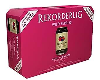 Rekorderlig Wildbeere Cider 7% (24 x 0.33 l)