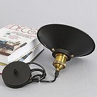 Industrial Vintage Pendant Light Shade Retro Ceiling Lighting Restaurant Pendant Lamp Shade E27 Base from WanLianInc