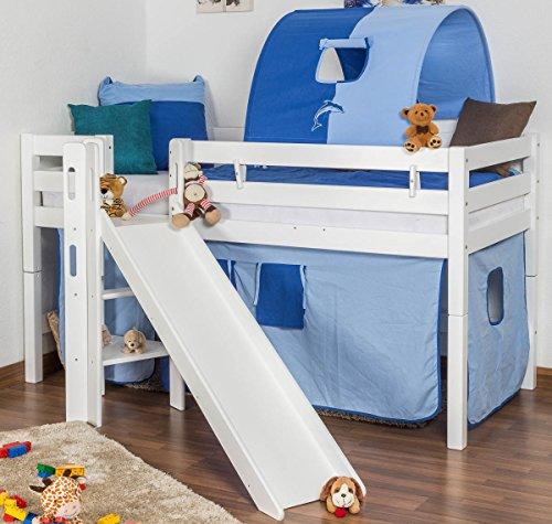 pinolino 111038 kinderbett hanna unbehandelt 140 x 70. Black Bedroom Furniture Sets. Home Design Ideas