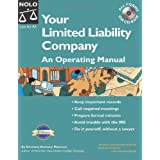 """Your Limited Liability Company: An Operating Manual """"With CD"""" with CDROM (Your Limited Liability Company (W/CD)) ~ Anthony Mancuso"""