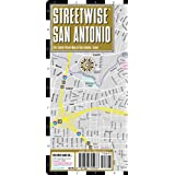 Streetwise San Antonio Map - Laminated City Center Street Map of San Antonio, Texas - Folding pocket size travel map