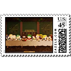South Park: The Last Pizza Party Postage