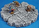 28mm Terrain: Broken Plateau 8 Grey