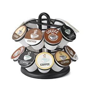 Nifty Mini Carousel for K-Cups, Black