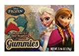 Disney Frozen Gummies Strawberry & Blue Raspbery: 4 Boxes of 2.46 Oz