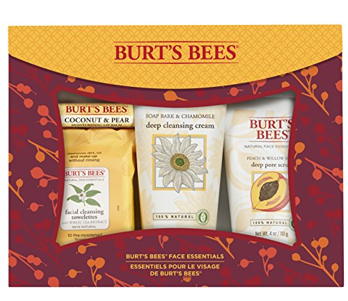 Burts Bees face essentials, holiday gift set, 500 Grams