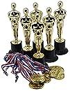 "Prextex Gold 6"" Award Trophies (12 P…"