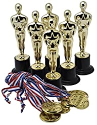 "Prextex Gold 6"" Award Trophies (12 P…"
