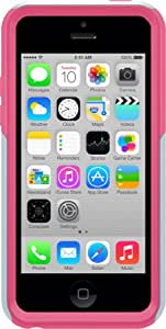 OtterBox Commuter Series Case for iPhone 5c - Retail Packaging - Pink/Gray