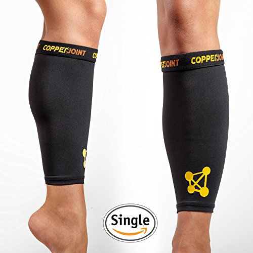 CopperJoint Copper Infused Calf Compression Sleeve, Single (Body Guard Pressure Pad compare prices)