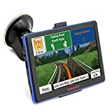 2016 Portable Car GPS Navigation System Units 7-Inch Capacitive screen 8GB Windows CE 6.0 US and Canada Lifetime Maps Vehicle Navigator
