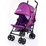 Baby Stroller Zeta Vooom - Plum Dots Stroller Buggy Pushchair From Birth