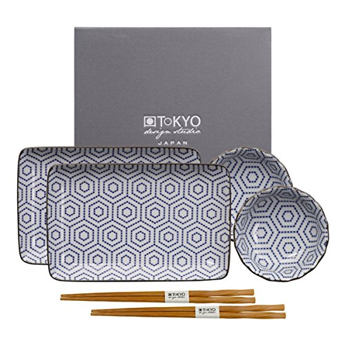 tokyo-design-studio-kotobuki-sushi-juego-completo-6-piezas-para-2-personas-sushi-vajilla-2-sushi-pla