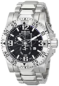 Invicta Men's 15294 Excursion Analog Display Swiss Quartz Silver Watch