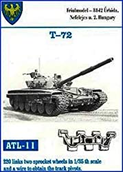 Friulmodel Atl11 1/35 Metal Track Link Set With Drive Sprockets For T 72