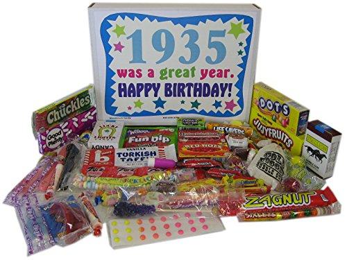 80th Birthday Gift Basket Box 1935