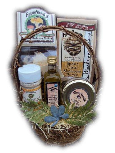 Gourmet Healthy Mushroom Gift Basket