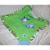 Disney Baby Winnie the Pooh, Eeyore, Cuddly Blankie with Rattle Plush