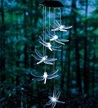 Dragonfly Solar Mobile With Bright LEDs