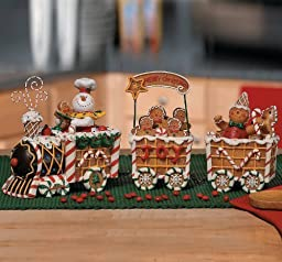 The Gingerbread Express Train - Holiday Decor by OTC