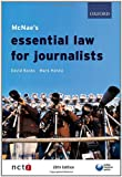 McNae's Essential Law for Journalists (0199556458) by Banks, David