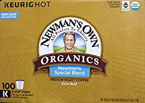 Newman's Own Special Extra Bold Blend Coffee K-Cups, Medium Roast, 100 Count by Kev and Cooper LLC