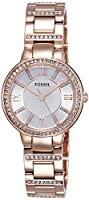 Fossil Analog Silver Dial Women's Watch ES3284