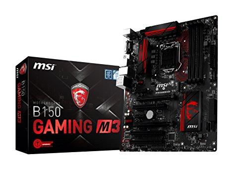 MSI-B150-Gaming-M3-Placa-base-zcalo-LGA-1151-DDR4-21331-x-M2-solo-SATA-6-x-SATA-6-Gbs-1-USB-31-y-20
