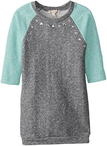 Speechless Big Girls' French Terry Raglan Tunic