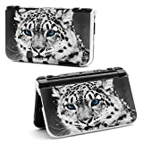 New Nintendo 3DS XL Case by Richen-Plastic Shell Protector Hard Cover for new 3ds XL LL(Leopard)