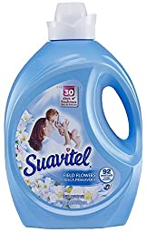 Suavitel 139371 Field Flower Fabric Softener, 135 oz Bottle (Pack of 4)