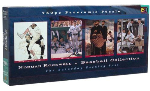 Cheap Buffalo Games Norman Rockwell Baseball Collection Jigsaw Puzzle 765pc (B00009XO8P)