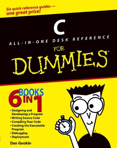 C All-In-One Desk Reference For Dummies front-1034324