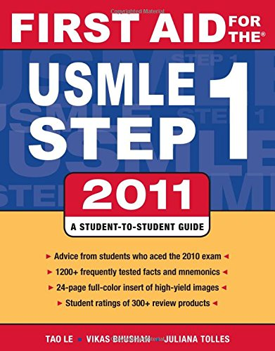 First Aid for the USMLE Step 1 2011 (First Aid USMLE)