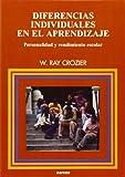 img - for DIFERENCIAS INDIVIDUALES EN EL APRENDIZAJE. Personalidad y rendimiento escolar book / textbook / text book