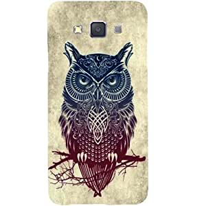 Casotec Owl Pattern Design Hard Back Case Cover for Samsung Galaxy A5