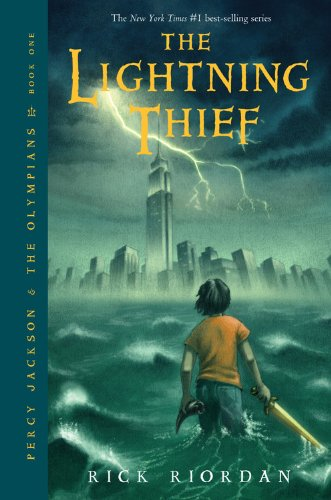 Cover of The Lightning Thief (Percy Jackson and the Olympians, Book 1)