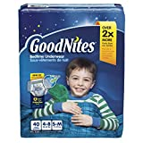GoodNites Bedtime Pants for Boys, Small/Medium, 40 count