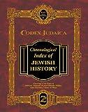Codex Judaica Chronological Index of Jewish History