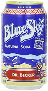 Blue Sky Dr. Becker Soda, 12 Ounce Cans (Pack of 24)