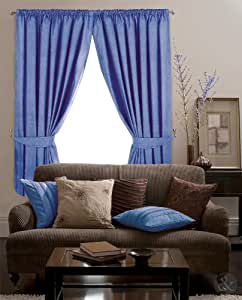 Clearance Blackout Curtains Thermal Fully Lined Pencil Pleat Ready Made Curtain