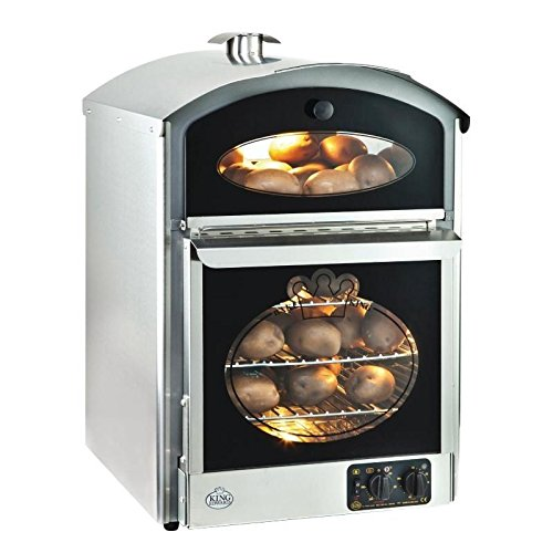 Heavy Duty Stainless Steel Potato Baker Oven Commercial Kitchen Restaurant Cafe