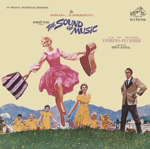 Original album cover of The Sound of Music (1965 Film Soundtrack - 40th Anniversary Special Edition) by Julie Andrews, Rodgers & Hammerstein, Marni Nixon, The Sound Of Music (Related Recordings), Irwin Kostal