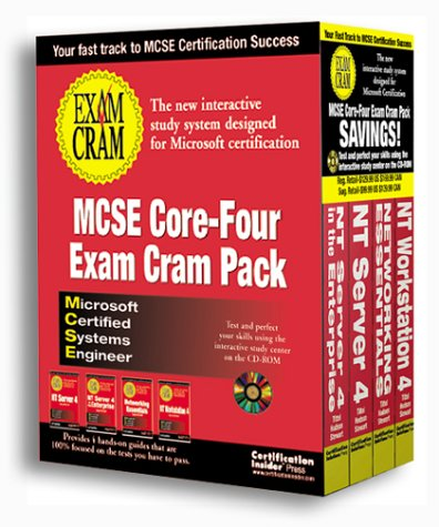 McSe Core-Four Exam Cram Pack: The New Interactive Study System Designed for Microsoft Certification : Microsoft Certified Systems Engineer