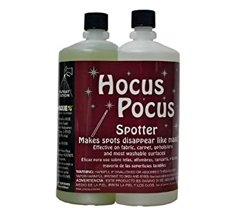 Waxie 019214811W Sprasta Hocus Pocus General Purpose Spotter, Dual-Chamber Refill Bottles, 22 oz (Box of 3)