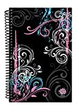 """Bloom Daily Planners 2017 Calendar Year Daily Planner - Passion/Goal Organizer - Fashion Agenda Weekly Diary - Monthly Datebook Calendar - January 2017 - December 2017 - 6"""" x 8.25"""" - Black"""